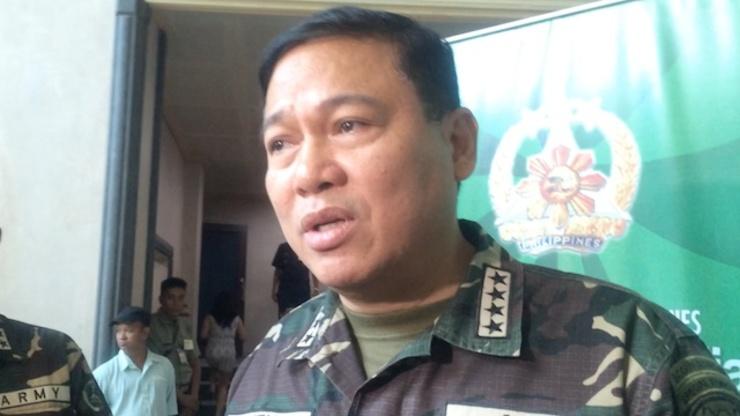 Armed Forces chief General Emmanuel Bautista. Rappler photo
