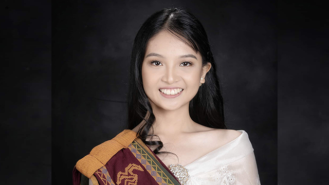 'HONOR AND EXCELLENCE'. Pete Maverick Nicole Estudillo is the first summa cum laude of the University of the Philippines Mindanao