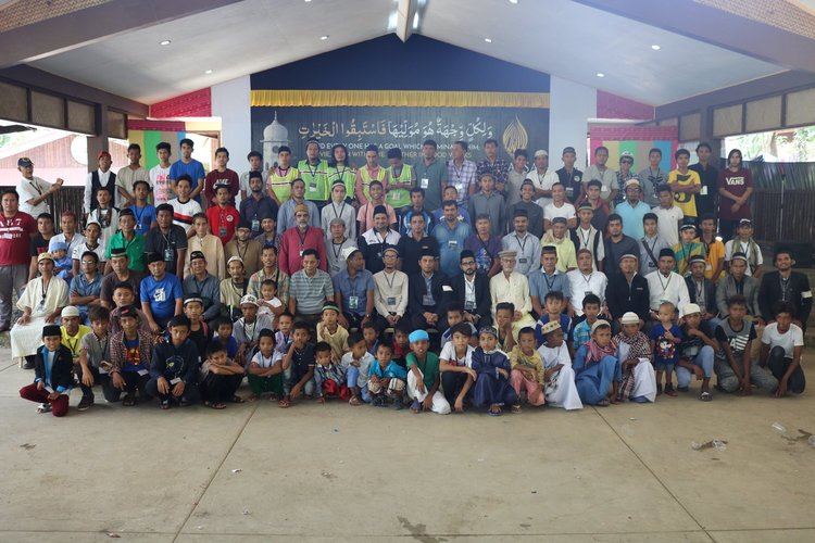 COMMUNITY. Ahmadi Muslims attend the 13th annual convention hosted by the Ahmadiyya Muslim Community of the Philippines on April 2018 at Silsila Compound. Photo by Talha Ali