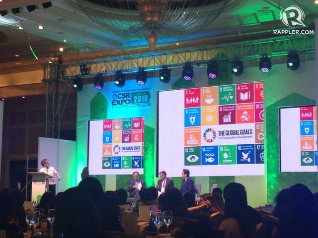 2030 NOW. The Sustainable Development Goals are presented during League of Corportate Foundations forum on July 15. Photo by Danielle Nakpil / Rappler