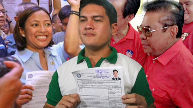 LIST: Local bets who filed COCs on Day 5, October 17