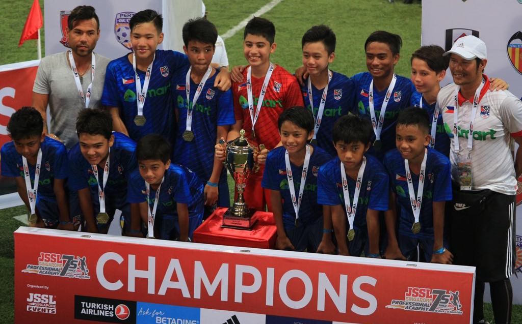 Makati Football Club bags gold in Singapore 7s tourney