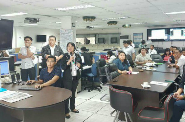 PREPAREDNESS. The NDRRMC conducts a pre-disaster risk assessment meeting in preparation for Typhoon Talim and the low pressure area east of Quezon. Photo from NDRRMC