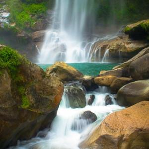 MAJESTIC. Bomod-ok falls in Sagada