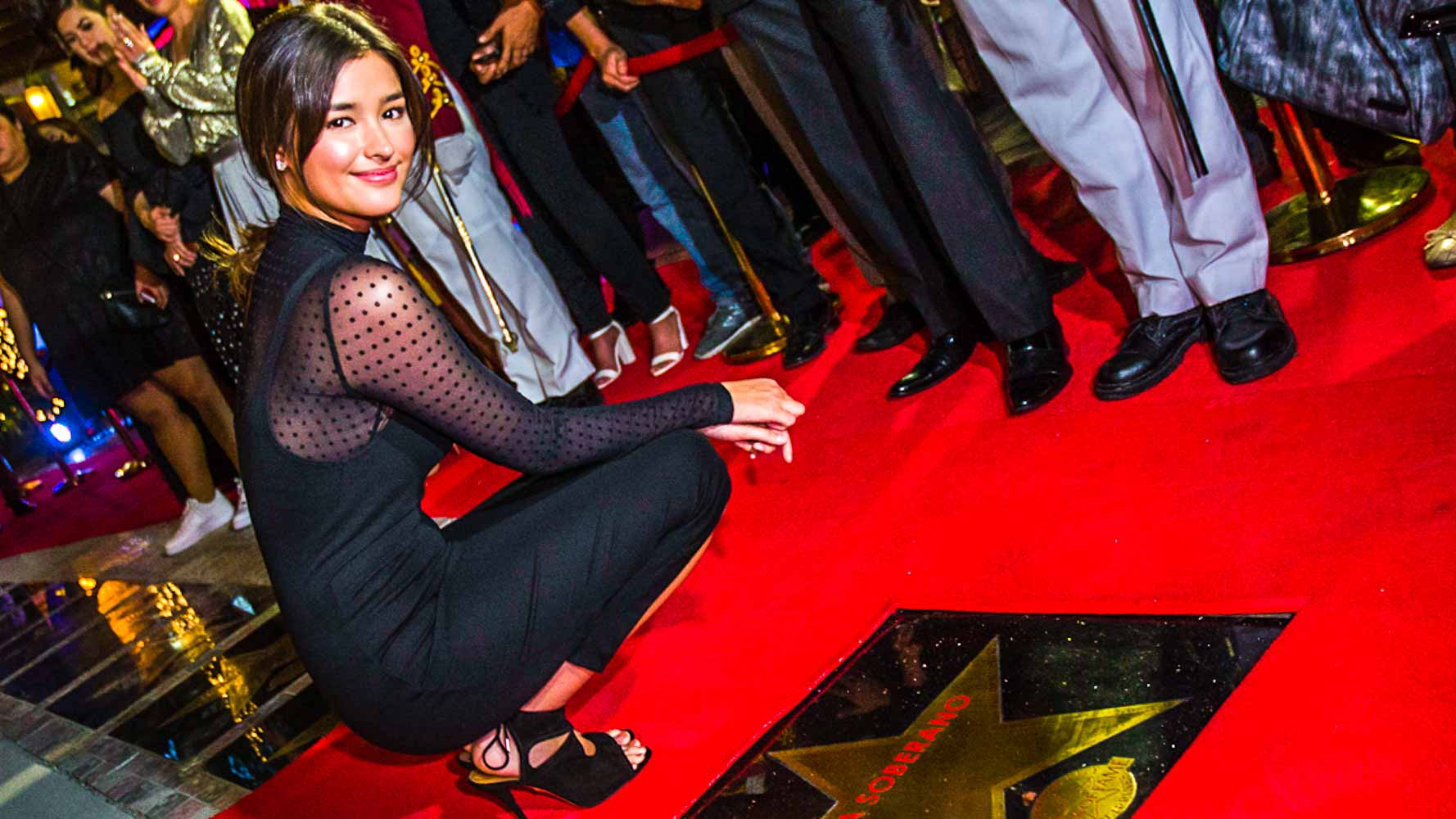 In Photos Liza Angelica Shaina And More Get Stars On