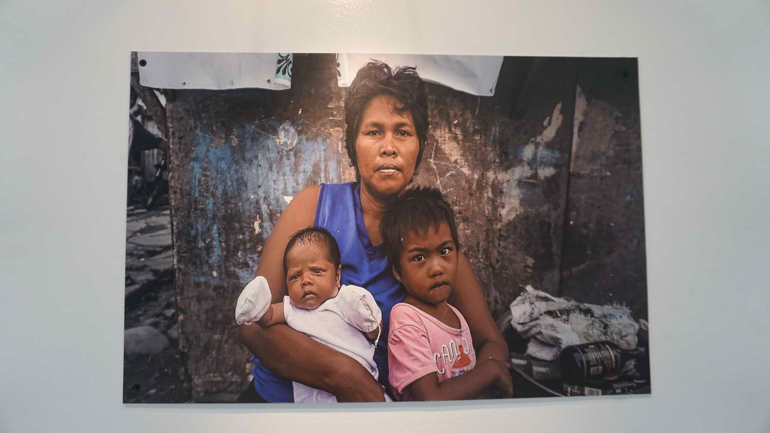 BORN AFTER YOLANDA. 36 year old Sarah dela Peña gave birth to her second daughter, Danica, 4 months after the typhoon hit Tacloban City. Photo by Joebert Calinao