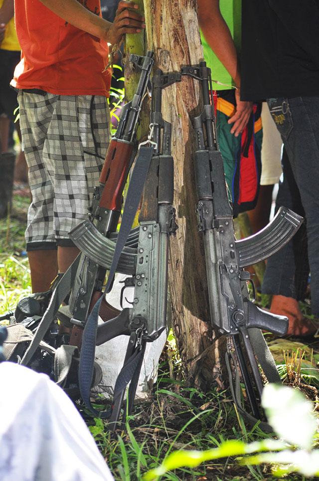 AK-47: NPA rebels' weapon of choice