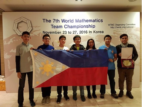 Young Pinoy kids win medals at World Math Team Championship