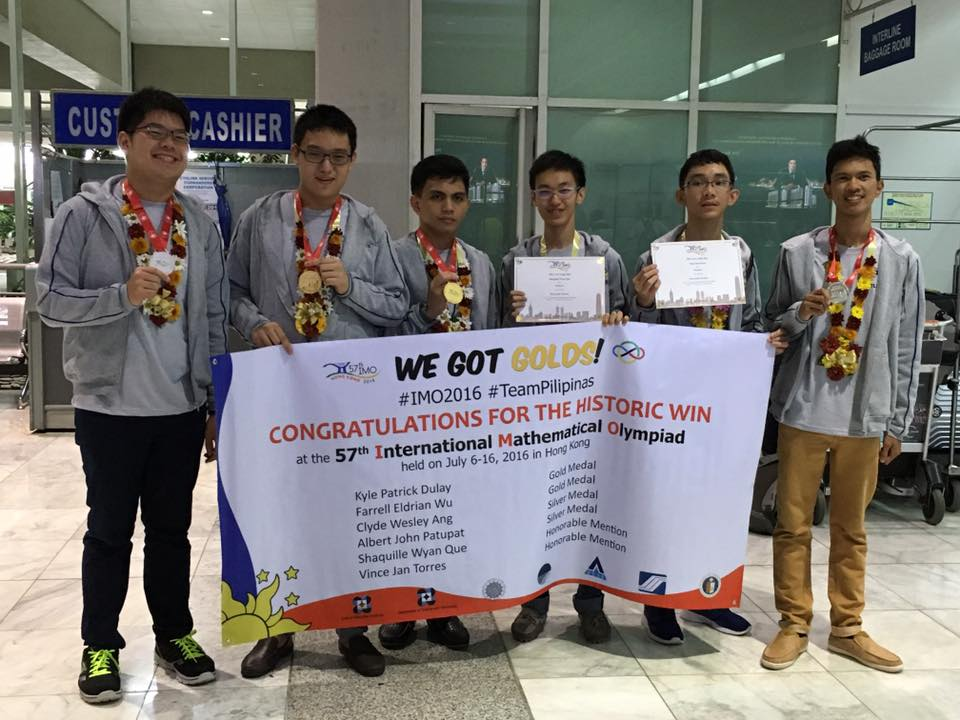 Int'l Math Olympiad: Filipino HS students finally bring home gold