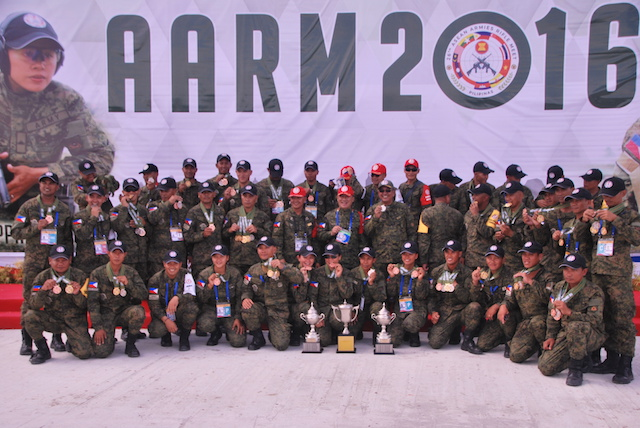 AARM2016. The Philippines is the host of the Asean Armies Rifles Meet 2016
