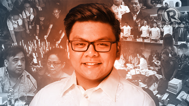 """HAZING. UST Freshman law student Horacio """"Atio"""" Castillo III died due to an alleged hazing by the Aegis Juris fraternity."""