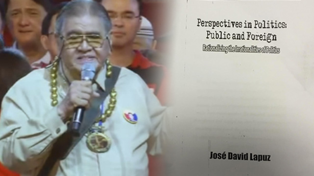 Lapuz explains plagiarism: Failure to cite source 'unallowable'