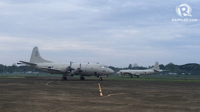 SPY PLANES: Two P3-C Orion spy planes are in Palawan this week for maritime training exercises. Rappler photo