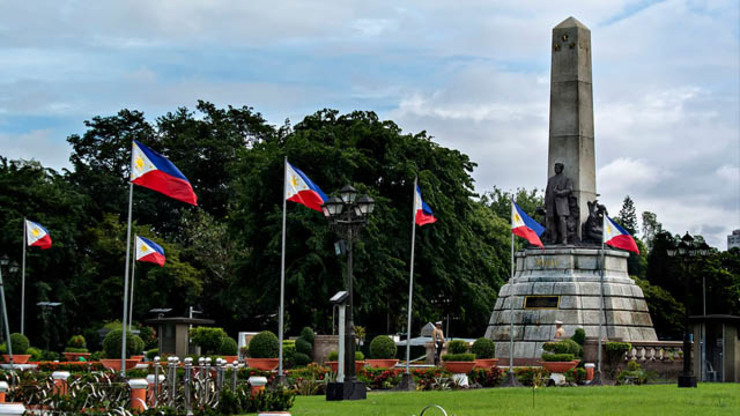 The 58-hectare Rizal Park, found at the heart of Manila, was named after the country's national hero, Jose Rizal, who was shot to death there.