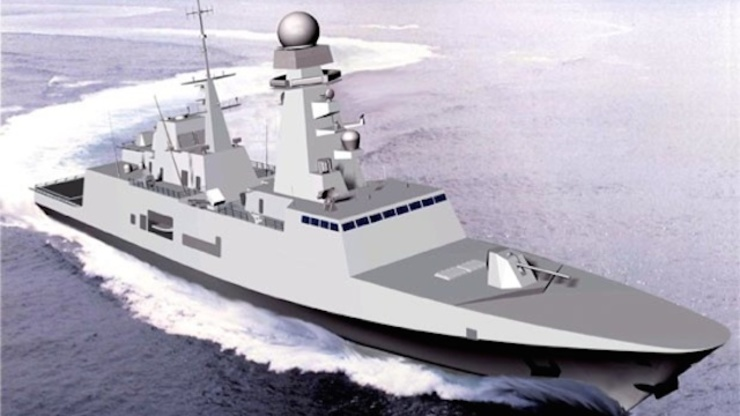 PATROLS: Philippine Navy's illustration of the brand new frigates it plans to acquire