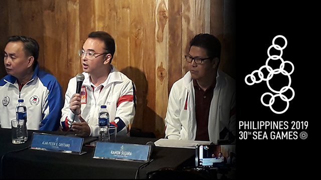 BEHIND THE EVENT. PHISGOC is the main team behind the 30th SEA Games 2019. File photo by Rappler