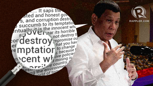 What you need to know about what Duterte said in 2018 SONA