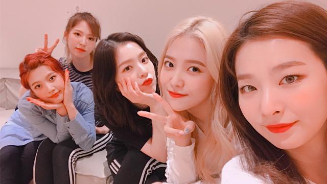 RED VELVET. K-pop girl group Red Velvet is set to perform in Pyongyang during a 4-day visit starting March 31. Screenshot from Instagram.com/redvelvet.smtown