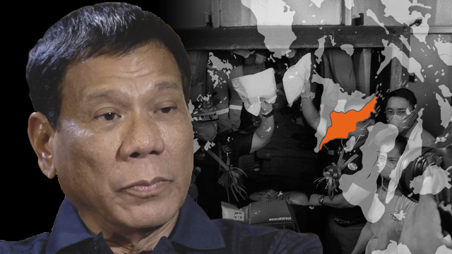 TAGGED. President Duterte tags Iloilo as a province with a number of alleged drug protectors and persons involved in narco-politics. Image by Nico Villarete / Rappler