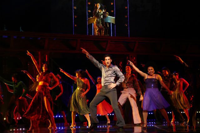 DISCO FEVER. The Filipino-dominated cast of Saturday Night Fever: The Musical got the audience in Kuala Lumpur off their seats and dancing to the hits of the Bee Gees. Photo provided by ATEG.