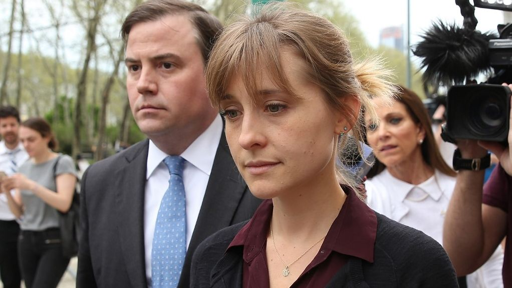CHARGED. Allison Mack pleads guilty to recruiting women to a cult-like sex slave society. Photo by Jemal Countess/Getty Images North America/AFP