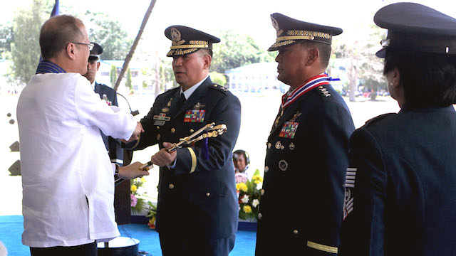NEW CHIEF. Philippine Air Force Commanding General Jeffrey Delgado. Malacañang photo