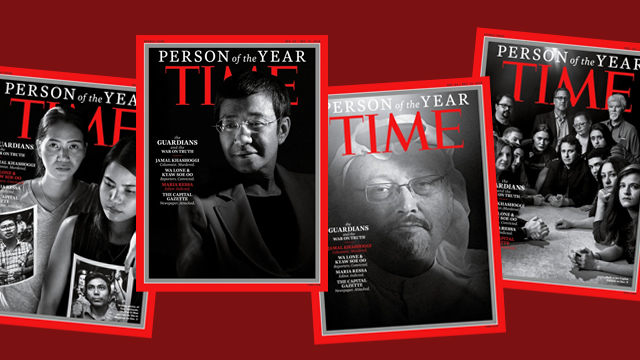 THE GUARDIANS. TIME Magazine recognizes a collection of journalists around the world for 'taking great risks in pursuit of greater truths.' Images from TIME website