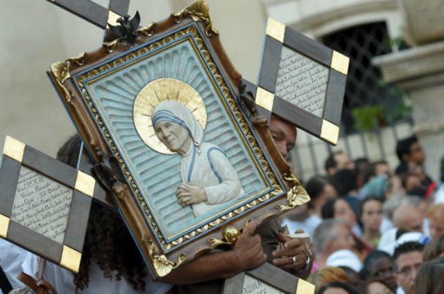 Pope Francis on Teresa: Now a saint, always a mother