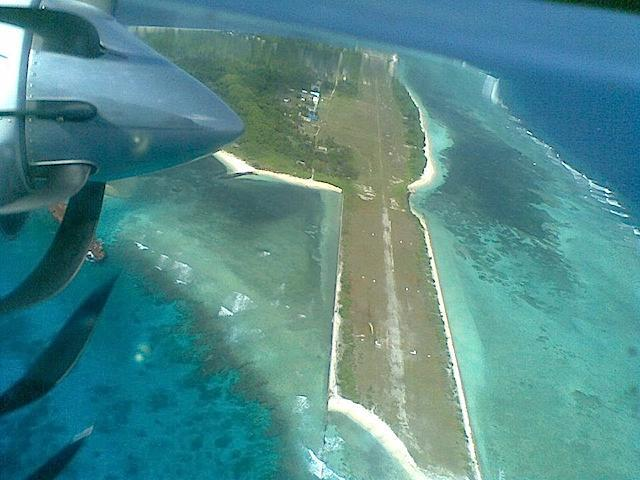 File photo of Pag-asa Island, part of the disputed Spratlys group of islands in the South China Sea (West Philippine Sea)