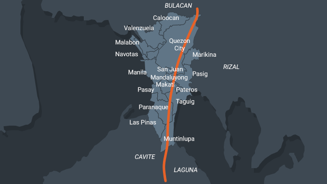 WEST VALLEY FAULT. The West Valley Fault is a major hazard that can seriously impact the Greater Metro Manila Area.