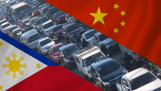 MURKY DETAILS. A Philippine senator, lawmaker, and a group of former senior government officials have raised concerns over the Chinese firms designated to spearhead the new projects. Traffic photo by Joel Liporada/Rappler