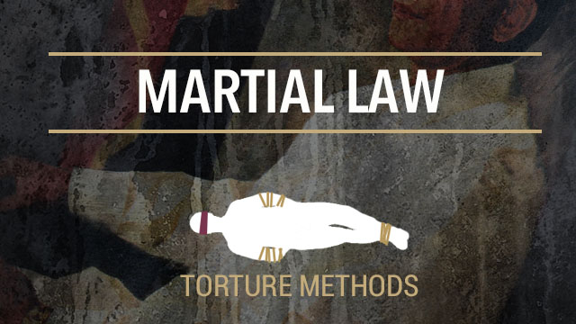 Worse Than Death Torture Methods During Martial Law
