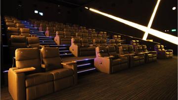 UPTOWN MALL'S 24-HOUR CINEMAS. Photo courtesy of Megaworld