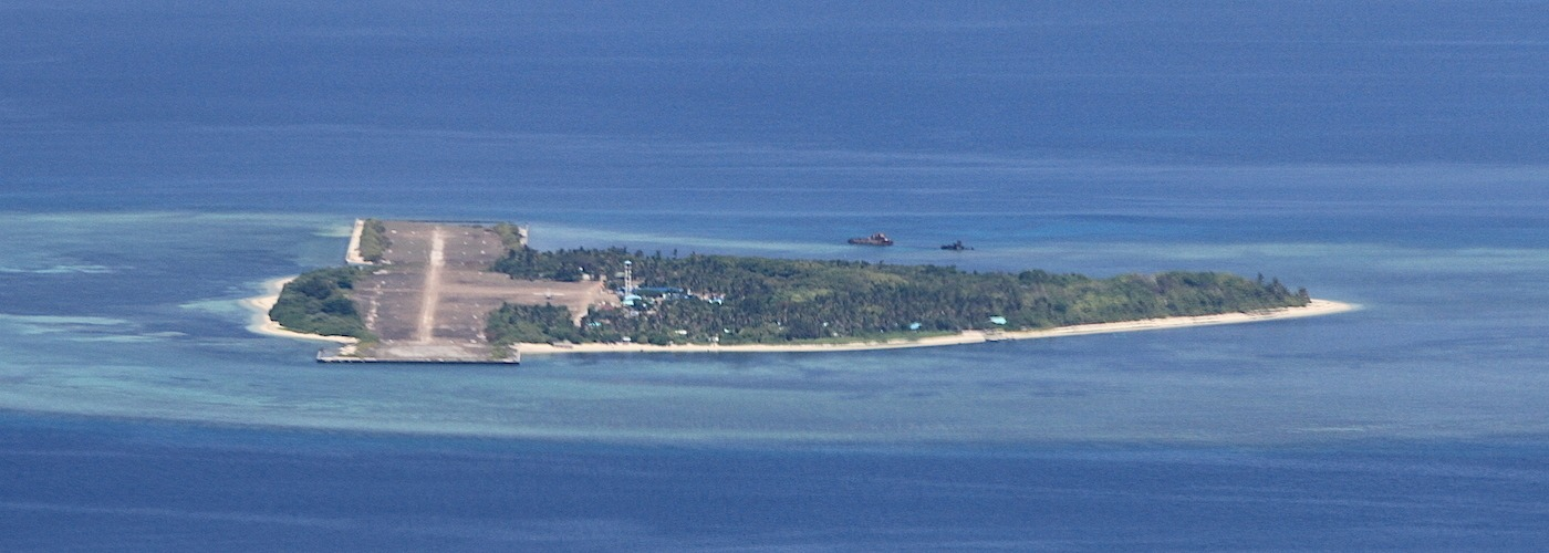PAG-ASA (HOPE) ISLAND. Located 300 nautical miles away from mainland Palawan, Pag-asa island is a home to about a hundred Filipinos. Photo of SSg Milay/Philippine Air Force
