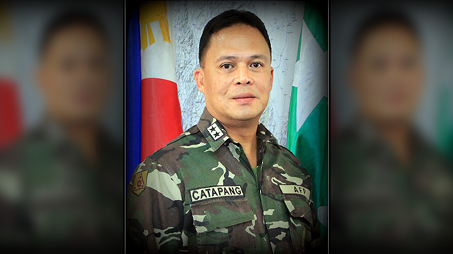 NEW CHIEF: Lieutenant General Gregorio Pio Catapang Jr is the new chief of staff of the 120,000-strong Armed Forces of the Philippines