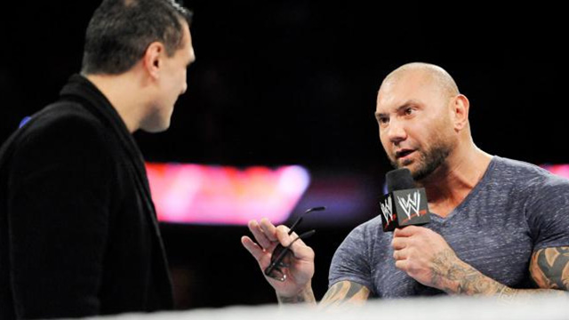 Batista headlines Wrestlemania again...whether you like it or not