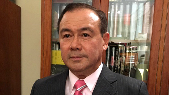 NEWLY APPOINTED. Teodoro Locsin Jr is the new Philippine representative to the United Nations. Photo from Locsin Jr's Twitter account