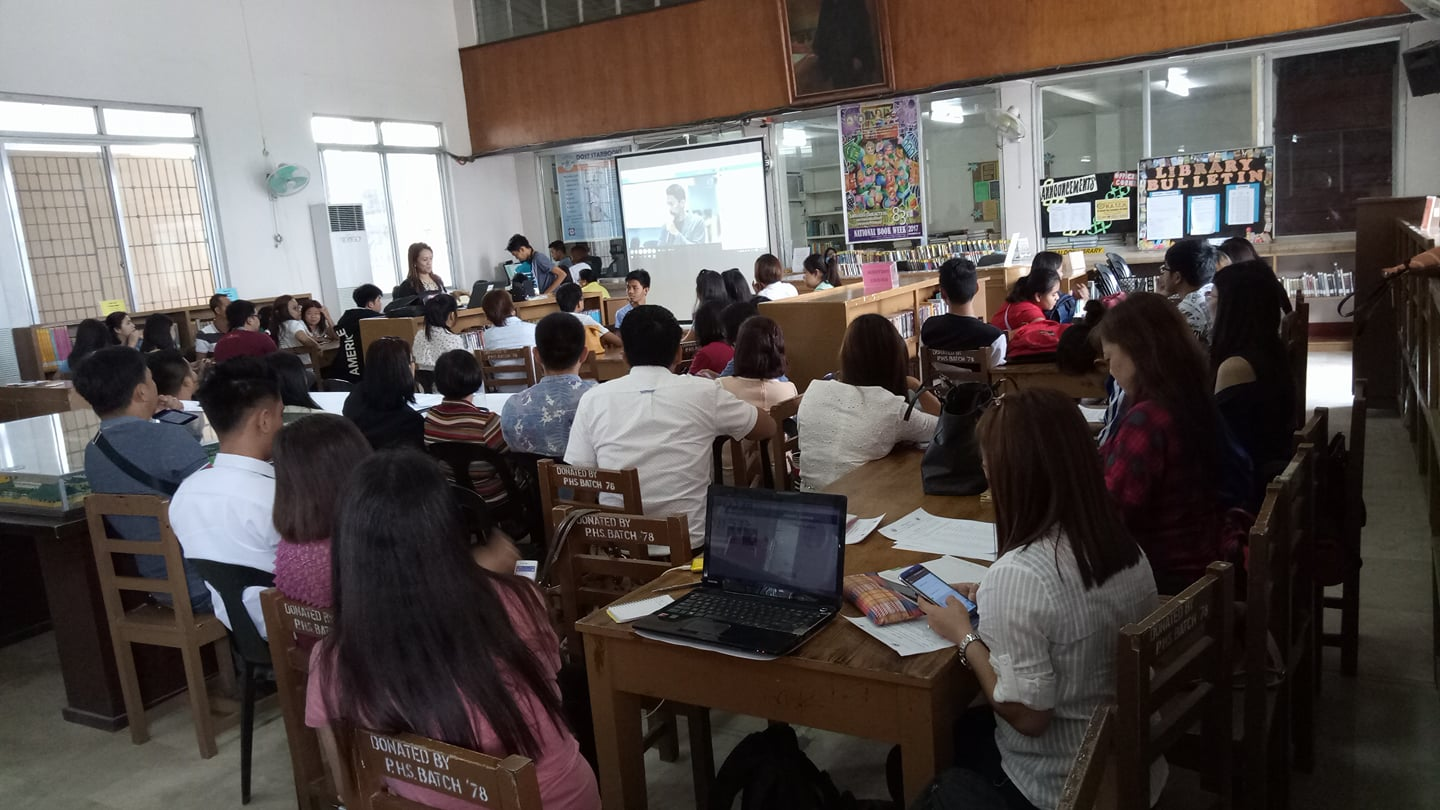 BRIDGING GAPS. School paper advisers from Central Luzon listen to MovePH Executive Director Rupert Ambil as he give the opening statement during the Webinar on Online Publishing. Photo by Ran Mendoza/Facebook