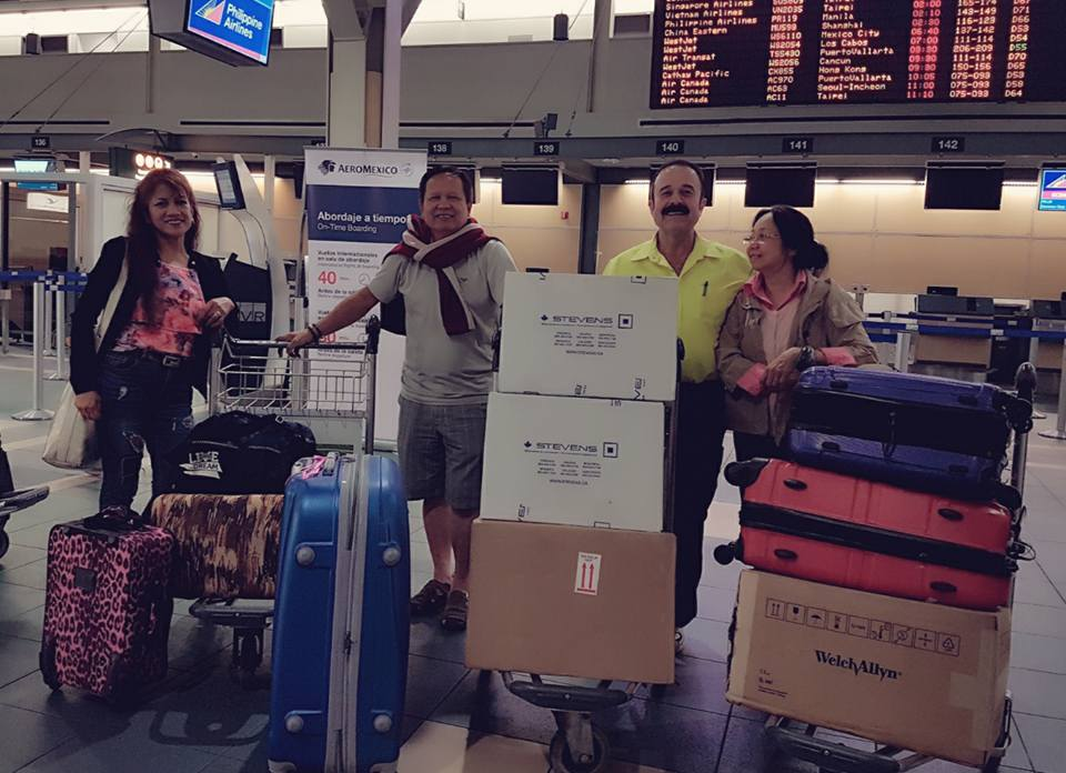 HEARTFELT DONATION. Canadian tourist John Abou-Samra will be donating P1.2 million worth of hospital equipment to the Coron District Hospital. Photo courtesy of John Abou-Samra
