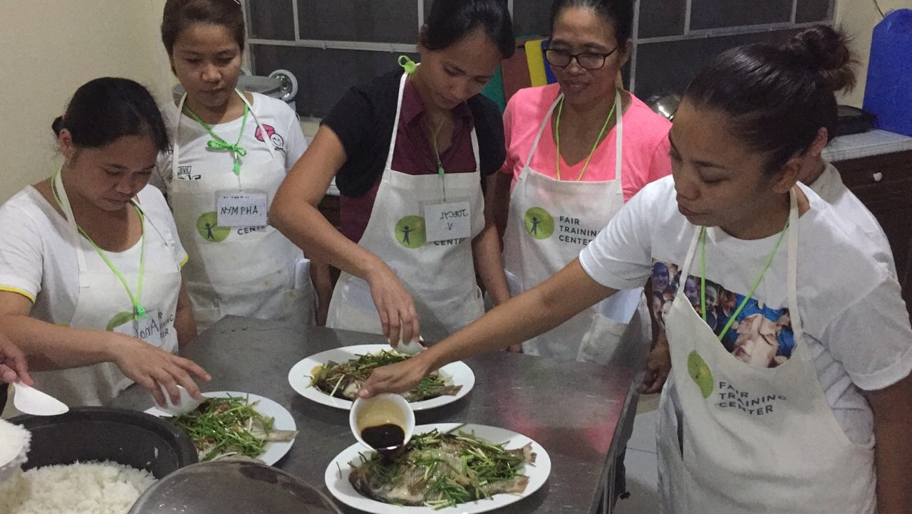 LOCAL COOKING. Students of FTC are taught to understand Hong Kong recipes and ingredients. Photo from the Fair Training Center