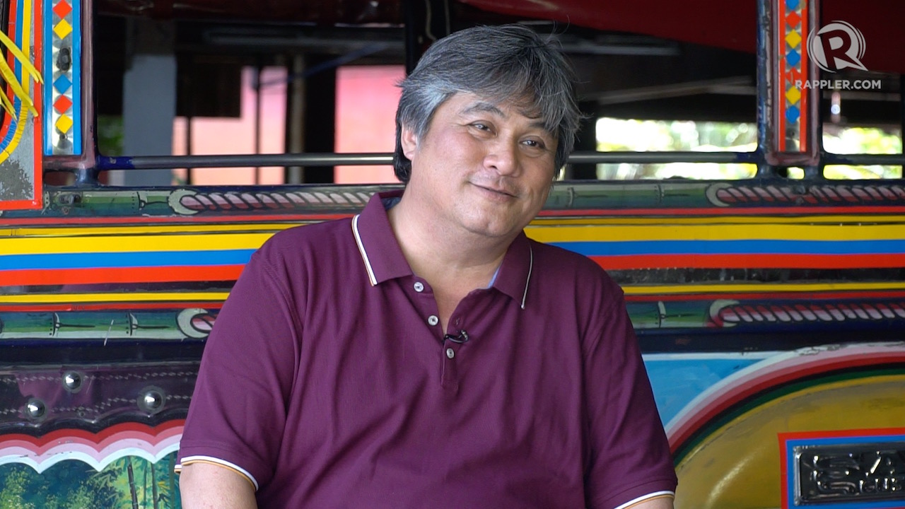 CONTINUING A LEGACY. Ed Sarao, son of Leonardo Sarao, is the heir to the Sarao Motors jeepney business.