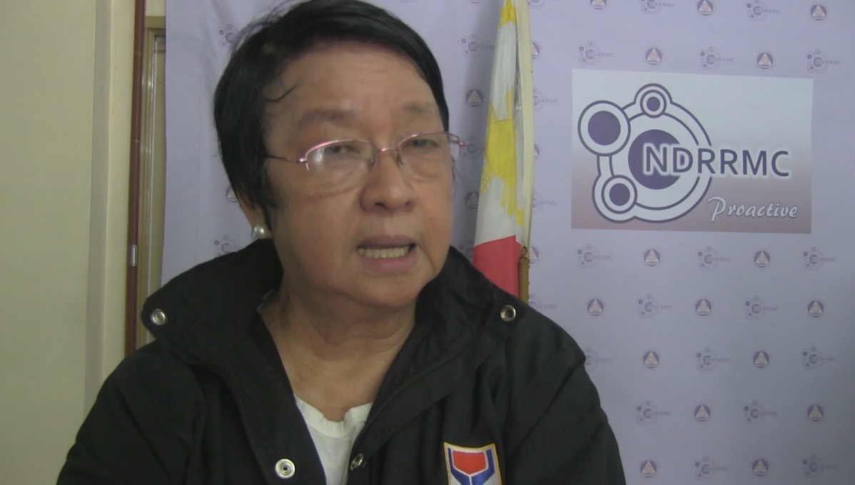 STAY SAFE. Social Welfare and Development Secretary Judy Taguiwalo calls on the youth and mountaineers to avoid climbing mountains when there's a typhoon.