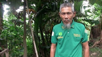 NEW LIFE. Kahar Bawa, 62, is among the pioneer members of the Moro Islamic Liberation Front who agreed to decommission. Photo by Rappler