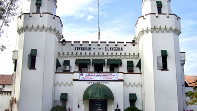 NATIONAL BILIBID PRISON. The NBP of the Bureau of Corrections is the main insular penitentiary. File photo of Rappler