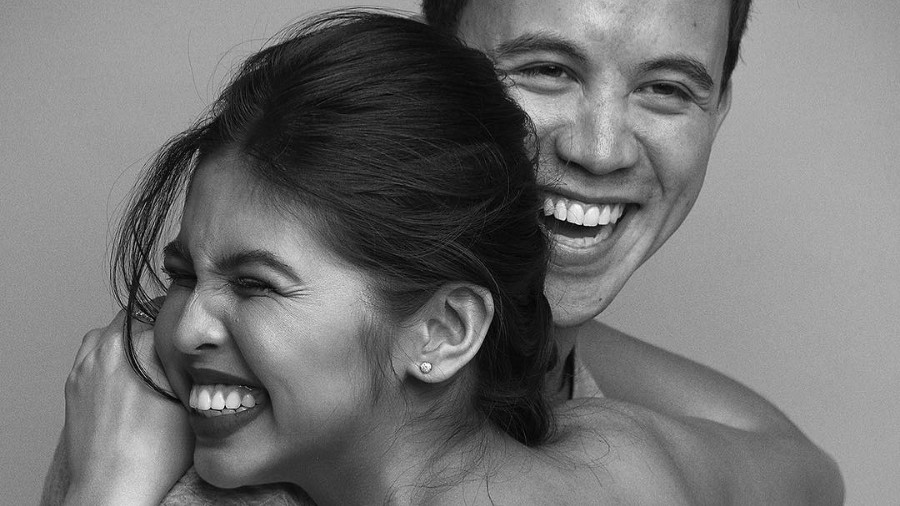 HIS MAIN. The actor gets giddy as he greets Maine Mendoza a happy birthday. Photo from Arjo Atayde's Instagram