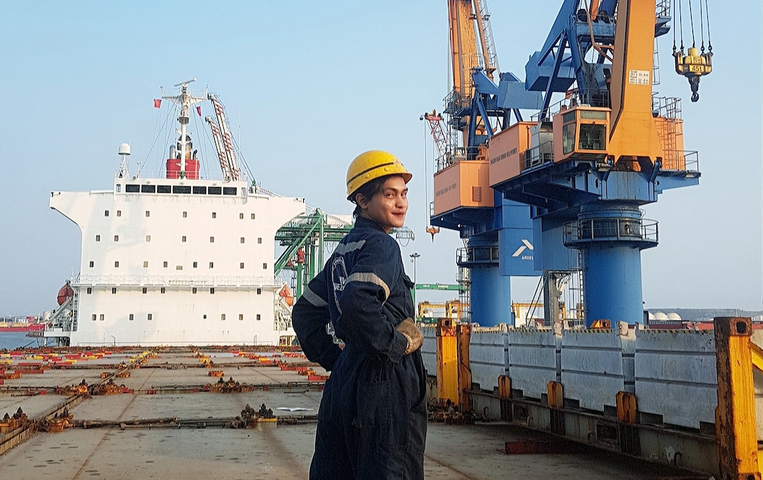 How gay seafarer Dyosa Makinista proved she's 'queen of the