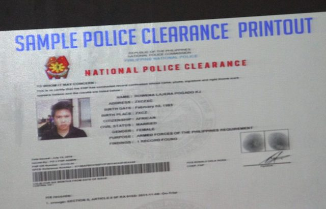 How The Pnp Plans To Replace The Nbi Clearance With Their Own