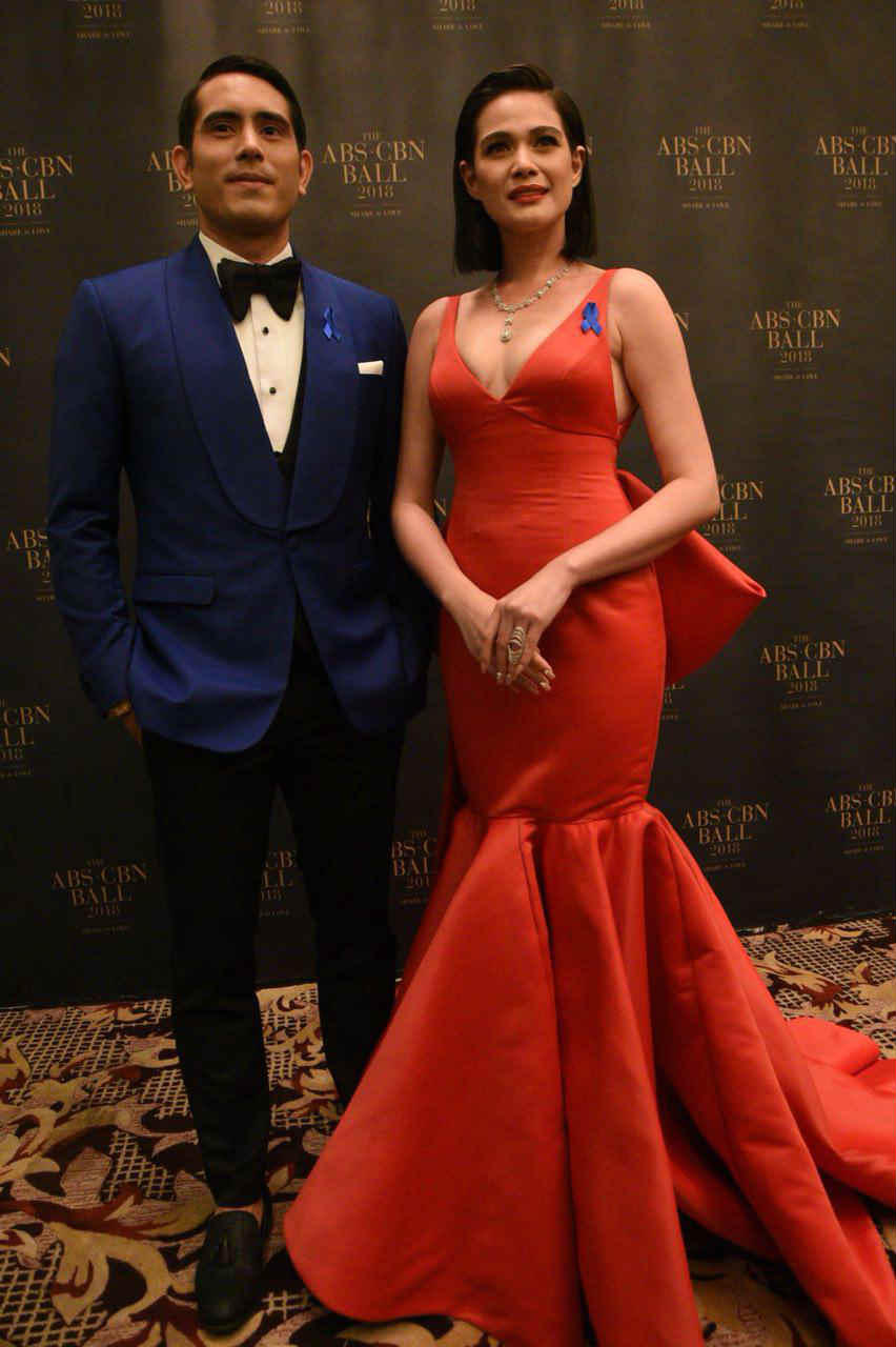 IN PHOTOS: Reel- and real-life couples at the ABS-CBN Ball 2018