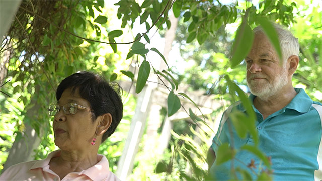 RETIREMENT. The Newhalls retired in Salvacion, Albay in 2005 and opened the Mirisbiris Garden and Nature Center in 2015 to the public. Photo by Naoki Mengua/Rappler