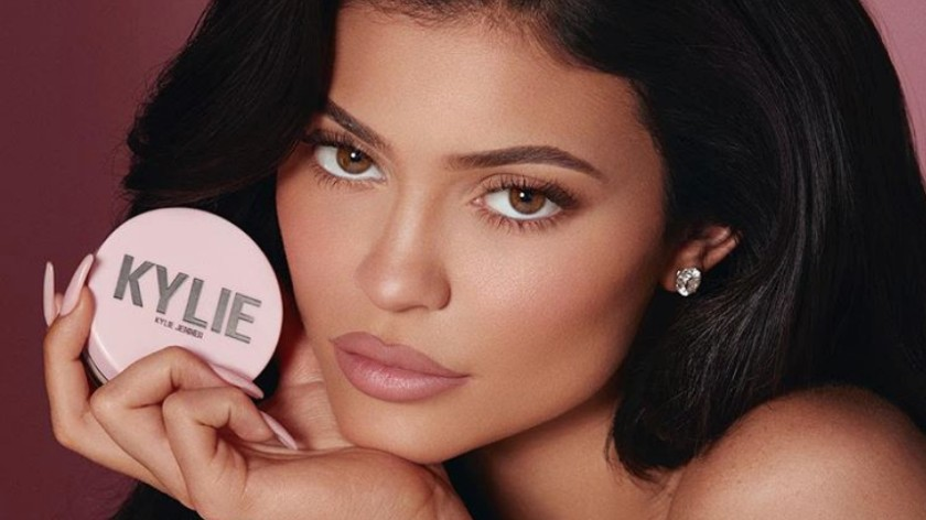 BILLIONAIRE. There ain't no stopping Kylie Jenner and her makeup brand. Image from Kylie Jenner's Instagram